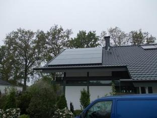 9,5 kWp Anlage in Axstedt