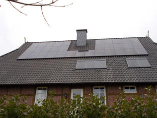 9,9 kWp-Anlage in Lilienthal