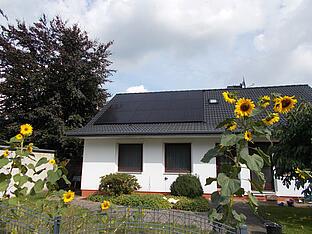 9,9 kWp Anlage in Osterholz-Scharmbeck