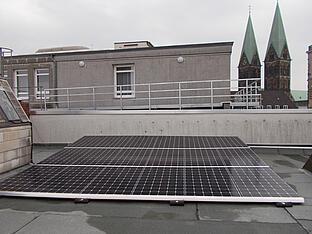 5,94 kWp Anlage auf Firmengebäude