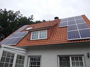 4,59 kWp Anlage in Verden